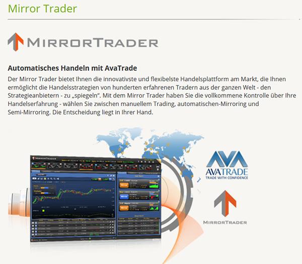 avatrade Mirror Trader