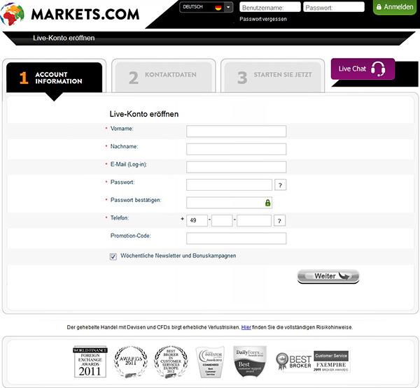 Rv markets forex