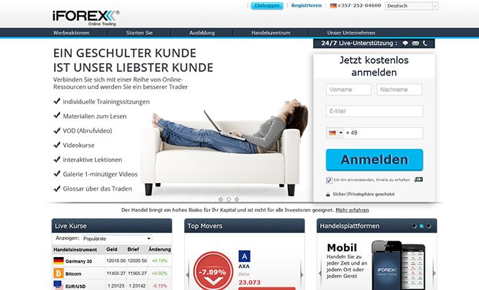 iForex Startseite