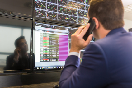 Behördliche Kontrollen beim Devisenhandel