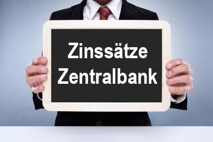 Zinssätze der Zentralbank