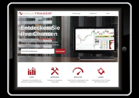Aktienhandel Software Ninja Trader