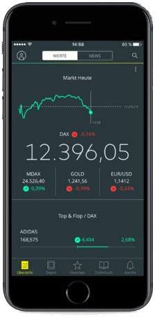 Broker App für Anfänger