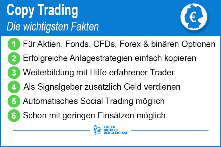 Copy Trading und Social Trading 2019 – Ratgeber & Broker Vergleich