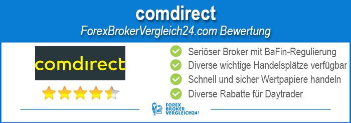 Comdirect Depot Erfahrung
